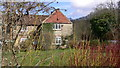 SU8425 : Cottage at Robins Farm seen from Robins Lane bridleway by Shazz