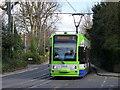 TQ3365 : Tram Approaching East Croydon : Week 9