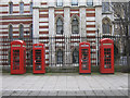 TQ3181 : Phone box symmetry by Ian Capper