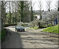 ST6762 : 2009 : Traffic in Stanton Prior by Maurice Pullin