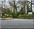SJ9493 : Entrance to Pole Bank Hall by Gerald England