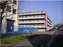 TL4410 : Multi-storey Car park Kitson Way Harlow by PAUL FARMER