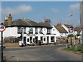 TQ6952 : Railway Hotel, Wateringbury by Stephen Craven