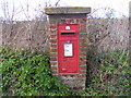 TM3556 : Church Corner George VI Postbox by AGC
