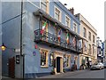 Photo of Globe Inn, Tenby, Tenby House, William Paxton, and John Wesley blue plaque