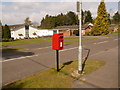 SU1204 : Ashley Heath: postbox № BH24 52, Horton Road by Chris Downer