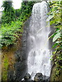 SX0455 : Waterfall in the Tropical Biome at Eden by Jonathan Billinger