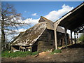 TQ5340 : Barn on Coopers Lane by Oast House Archive