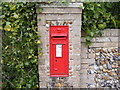 TM2751 : Foxborough Hall Victorian Postbox in Saddlemakers Lane by Adrian Cable