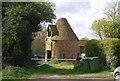 TQ5151 : Ruined Oast, Hatchlands Farm by N Chadwick