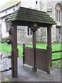 SP8510 : The Tapsell Lychgate at Weston Turville by Chris Reynolds