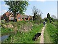 SP8911 : Wendover Arm: A heavily used walking (and cycling) route beside the disused canal by Chris Reynolds
