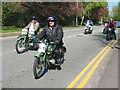 SJ7561 : Sandbach transport parade (2) - motorcycles by Stephen Craven