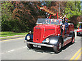 SJ7561 : Sandbach transport parade (8) - fire engines by Stephen Craven