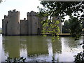 TQ7825 : Bodiam Castle from the back by Julian Williams