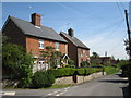 TQ6554 : Houses on Butcher's Lane by Oast House Archive