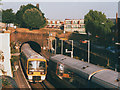 TQ4278 : West end of Woolwich Dockyard station by Stephen Craven