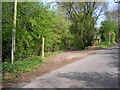 SJ5074 : Path leading up to Snidley Moor Wood and the Sandstone Trail by chris croft