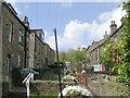 SE0336 : Wood Street - Cold Street by Betty Longbottom