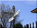 SO9793 : Tame Valley Junction Sign by Gordon Griffiths