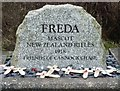 SJ9718 : Freda's Grave by Michael Marsh