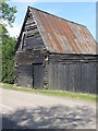 TL1556 : Timber barn, Chawston by Michael Trolove