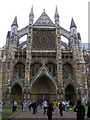 TQ3079 : Westminster Abbey SW1 by Robin Sones