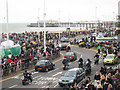 TQ8209 : Motorbikes at Hastings May Day Run 2009 by Oast House Archive