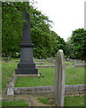 SP0892 : Avery memorial, Witton Cemetery by Robin Stott