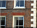 TQ8209 : Brick detail on Old Hastings House by Oast House Archive