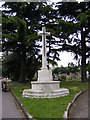 TQ4683 : War Memorial at Rippleside Cemetery by Adrian Cable
