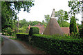 TQ4751 : Oast House at Toys Hill Farmhouse, Brasted, Kent by Oast House Archive
