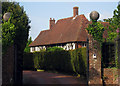 TQ7833 : The Moat, Cranbrook Road, Benenden, Kent by Oast House Archive