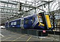 NS5865 : New train mock-up at Glasgow Central by Thomas Nugent