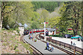 SH6441 : Tan-Y-Bwlch station by John Firth