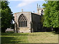 TL3163 : Holy Trinity Church, Elsworth by Adrian Cable