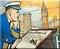 J3475 : Mural, Sailortown, Belfast (2) by Albert Bridge