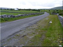 M2807 : Road from Corker Pass to Carron - Sheshia Townland by Mac McCarron
