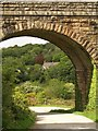 SW7445 : Arch of Chacewater Viaduct by Derek Harper