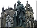 NT2573 : Adam Smith statue, High Street by kim traynor