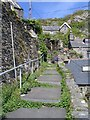 SH6115 : Steps through Old Barmouth by E Gammie