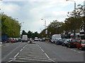 SK5534 : Southchurch Drive at Clifton centre by Alan Murray-Rust