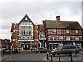 SU3987 : Old buildings, Wantage Market Place by Rose and Trev Clough