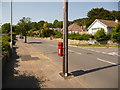 SY9996 : Broadstone: postbox № BH18 158, Lancaster Drive by Chris Downer