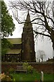 SE0733 : Denholme St Paul's Church from the graveyard by SMJ