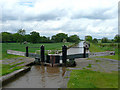 SJ6448 : Lock No 2 at Hack Green, Cheshire by Roger  Kidd
