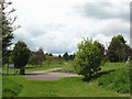 TL2808 : Footpath across the golf course, Bedwell Park by Stephen Craven