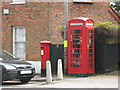 TL2702 : Phone box and post box, Northaw by Stephen Craven
