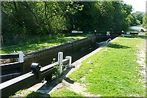 SU3767 : Brunsden Lock by Graham Horn
