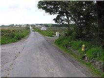 C5235 : Road at Drung by Kenneth  Allen